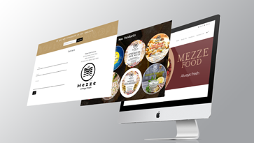 Graphic Mezze Food